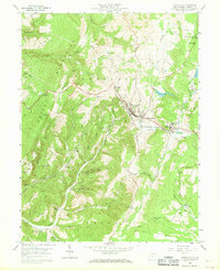 Download a high-resolution, GPS-compatible USGS topo map for Terra Alta, WV (1968 edition)