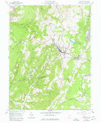 Download a high-resolution, GPS-compatible USGS topo map for Terra Alta, WV (1977 edition)