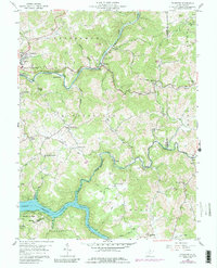 Download a high-resolution, GPS-compatible USGS topo map for Thornton, WV (1989 edition)