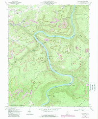 Download a high-resolution, GPS-compatible USGS topo map for Thurmond, WV (1989 edition)