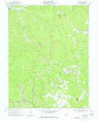 Download a high-resolution, GPS-compatible USGS topo map for Tioga, WV (1966 edition)