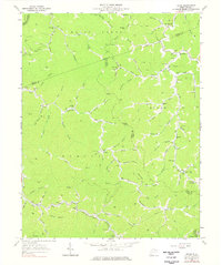 Download a high-resolution, GPS-compatible USGS topo map for Trace, WV (1977 edition)