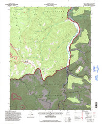 Download a high-resolution, GPS-compatible USGS topo map for Valley Head, WV (1998 edition)