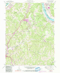 Download a high-resolution, GPS-compatible USGS topo map for Valley Mills, WV (1991 edition)