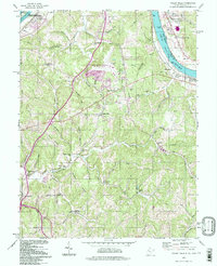 Download a high-resolution, GPS-compatible USGS topo map for Valley Mills, WV (1998 edition)