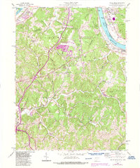 Download a high-resolution, GPS-compatible USGS topo map for Valley Mills, WV (1987 edition)