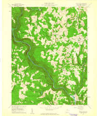 Download a high-resolution, GPS-compatible USGS topo map for Valley Point, WV (1961 edition)