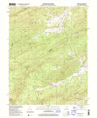 Download a high-resolution, GPS-compatible USGS topo map for Waiteville, WV (2001 edition)