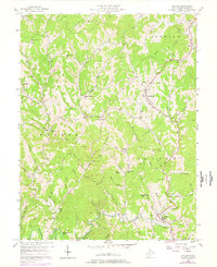Download a high-resolution, GPS-compatible USGS topo map for Walton, WV (1977 edition)