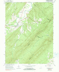 Download a high-resolution, GPS-compatible USGS topo map for Wardensville, WV (1990 edition)
