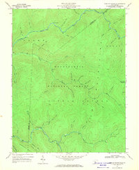 Download a high-resolution, GPS-compatible USGS topo map for Webster Springs SE, WV (1970 edition)