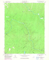 Download a high-resolution, GPS-compatible USGS topo map for Webster Springs SW, WV (1982 edition)