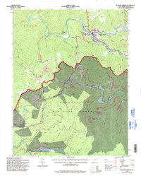 Download a high-resolution, GPS-compatible USGS topo map for Webster Springs, WV (1998 edition)