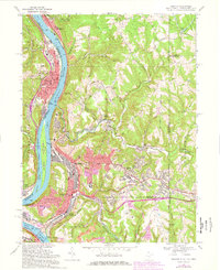 Download a high-resolution, GPS-compatible USGS topo map for Weirton, WV (1978 edition)