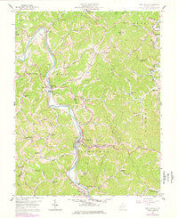Download a high-resolution, GPS-compatible USGS topo map for West Hamlin, WV (1978 edition)
