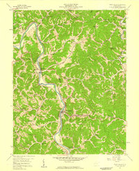 Download a high-resolution, GPS-compatible USGS topo map for West Hamlin, WV (1959 edition)