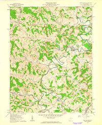 Download a high-resolution, GPS-compatible USGS topo map for West Milford, WV (1962 edition)