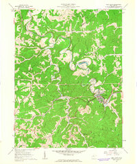 Download a high-resolution, GPS-compatible USGS topo map for West Union, WV (1963 edition)