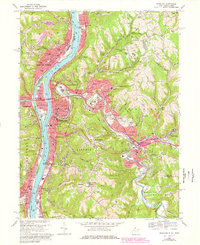 Download a high-resolution, GPS-compatible USGS topo map for Wheeling, WV (1978 edition)