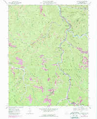 Download a high-resolution, GPS-compatible USGS topo map for Whitesville, WV (1989 edition)