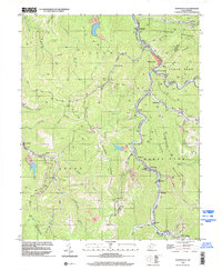 Download a high-resolution, GPS-compatible USGS topo map for Whitesville, WV (2002 edition)