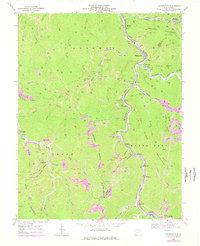 Download a high-resolution, GPS-compatible USGS topo map for Whitesville, WV (1977 edition)