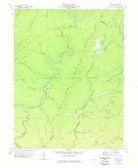 Download a high-resolution, GPS-compatible USGS topo map for Wildell, WV (1977 edition)