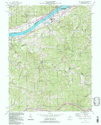 Download a high-resolution, GPS-compatible USGS topo map for Willow Island, WV (1998 edition)
