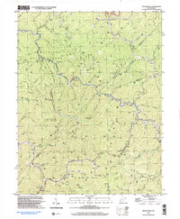 Download a high-resolution, GPS-compatible USGS topo map for Wilsondale, WV (2003 edition)