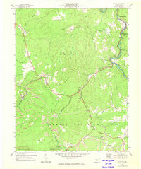 Download a high-resolution, GPS-compatible USGS topo map for Winona, WV (1973 edition)