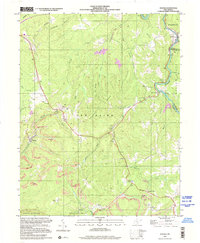 Download a high-resolution, GPS-compatible USGS topo map for Winona, WV (2001 edition)