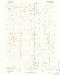 USGS 1:24000-scale Quadrangle for Carpenter Ranch, WY 1963