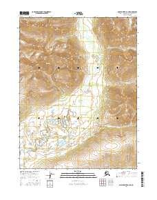 Topo map Ambler River A-2 NE Alaska