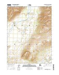 Topo map Ambler River A-2 NW Alaska