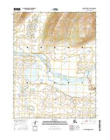 Topo map Ambler River A-3 NE Alaska