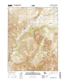 Topo map Ambler River A-3 SE Alaska
