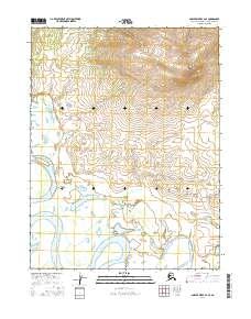 Topo map Ambler River A-4 SE Alaska