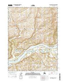 Topo map Ambler River A-6 NW Alaska