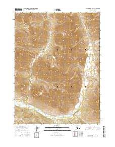 Topo map Ambler River B-2 NE Alaska