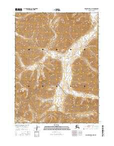 Topo map Ambler River C-2 NW Alaska