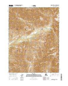 Topo map Ambler River C-2 SE Alaska