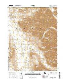 Topo map Ambler River C-3 NE Alaska