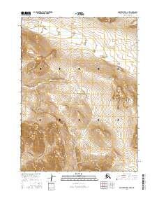 Topo map Ambler River C-3 NW Alaska