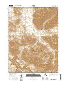 Topo map Ambler River C-3 SE Alaska