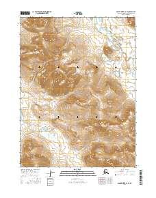 Topo map Ambler River C-4 SE Alaska