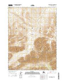 Topo map Ambler River C-5 SE Alaska
