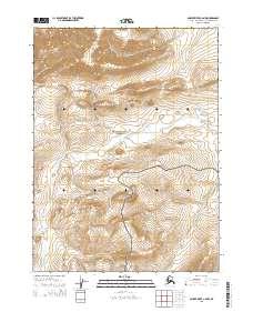 Topo map Ambler River C-6 NW Alaska