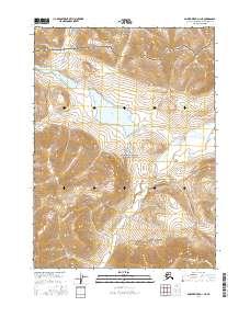 Topo map Ambler River D-1 NE Alaska