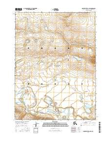 Topo map Ambler River D-2 NW Alaska