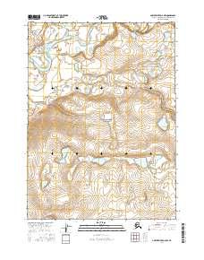 Topo map Ambler River D-4 NW Alaska